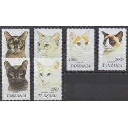Tanzanie - 1999 - No 2880/2885 - Chats