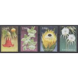Tanzania - 1999 - Nb 3047/3050 - Flowers