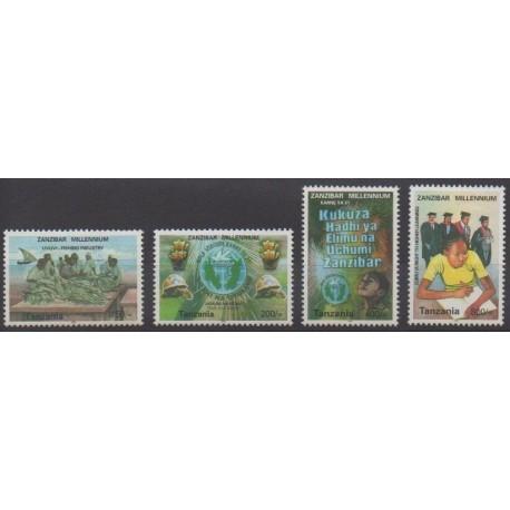 Tanzania - 2000 - Nb 3101FM/3101FQ