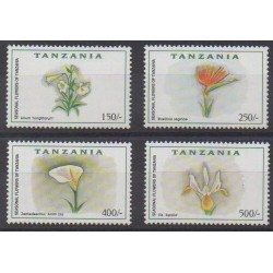 Tanzania - 1999 - Nb 3101FB/3101FE - Flowers
