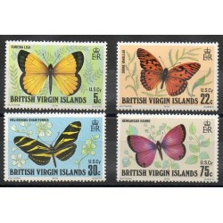 Virgin (Islands) - 1978- Nb 350/353 - Butterflies