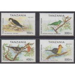 Tanzania - 2001 - Nb 3138/3141 - Birds
