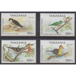 Tanzanie - 2001 - No 3138/3141 - Oiseaux