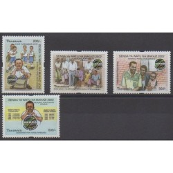 Tanzania - 2002 - Nb 3181/3184 - Various Historics Themes