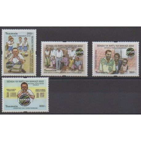 Tanzanie - 2002 - No 3181/3184 - Histoire