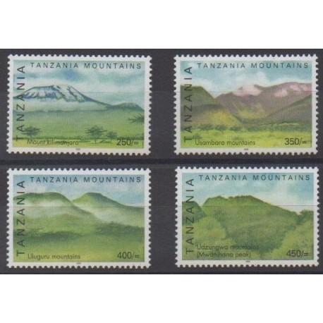 Tanzanie - 2002 - No 3173/3176 - Sites