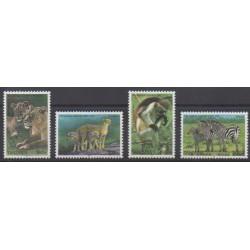 Tanzania - 2005 - Nb 3335/3338 - Mamals