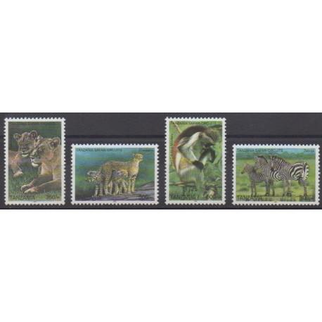 Tanzanie - 2005 - No 3335/3338 - Mammifères