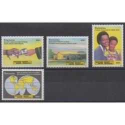 Tanzania - 2004 - Nb 3236/3239