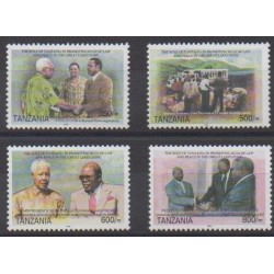Tanzania - 2004 - Nb 3293/3296 - Various Historics Themes