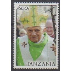 Tanzania - 2007 - Nb 3534 - Pope