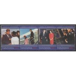 Tanzanie - 2010 - No 3691/3694 - Célébrités