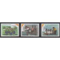 Tanzania - 2007 - Nb 3553/3556 - Childhood