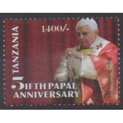 Tanzanie - 2010 - No 3736 - Papauté