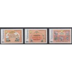 Tanzanie - 2010 - No 3684/3686 - Service postal