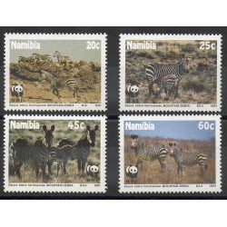 Namibie - 1991- No 659/662 - Animaux