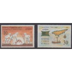 Chypre - 1994 - No 821/822 - Europa