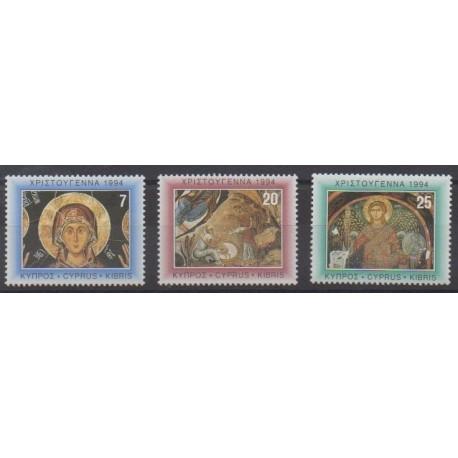 Cyprus - 1994 - Nb 834/836 - Christmas