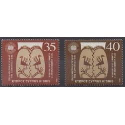 Chypre - 1993 - No 815/816