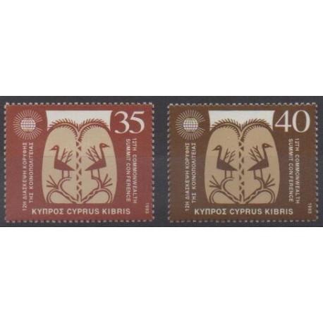 Cyprus - 1993 - Nb 815/816