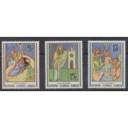 Chypre - 1991 - No 780/782 - Noël