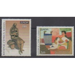 Chypre - 1993 - No 804/805 - Art - Europa