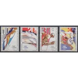 Chypre - 1992 - No 783/786 - Jeux Olympiques d'été