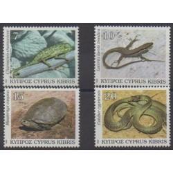 Chypre - 1992 - No 794/797 - Reptiles