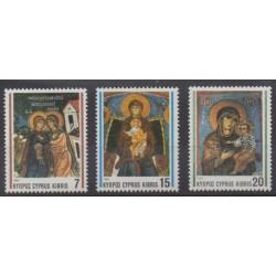 Cyprus - 1992 - Nb 798/800 - Christmas