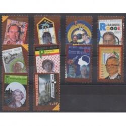 Belgium - 2004 - Nb 3222/3231 - Celebrities