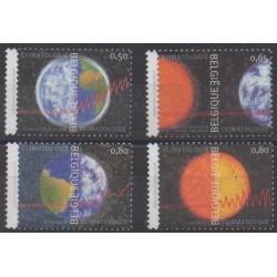 Belgique - 2004 - No 3265/3268 - Environnement