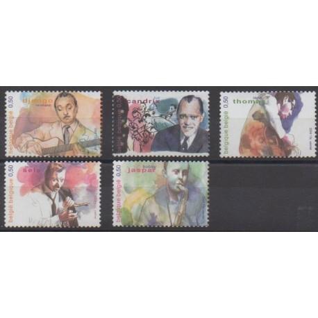 Belgique - 2004 - No 3271/3275 - Musique