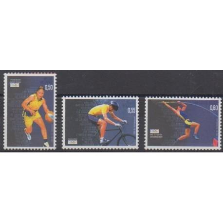 Belgique - 2004 - No 3290/3292 - Jeux Olympiques d'été