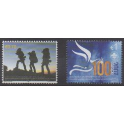 Kosovo - United Nations Administration - 2007 - Nb 68/69 - Scouts