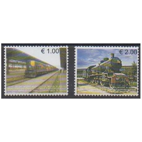 Kosovo - United Nations Administration - 2007 - Nb 90/91 - Trains