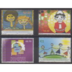 Kosovo - United Nations Administration - 2007 - Nb 70/73 - Children's drawings