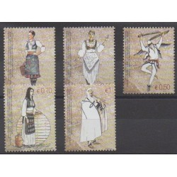 Kosovo - Administration des Nations Unies - 2007 - No 74/78 - Costumes
