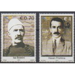 Kosovo - 2012 - No 112/113 - Célébrités