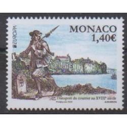 Monaco - 2020 - Transport du courrier - Service postal - Europa