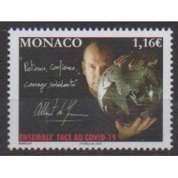 Monaco - 2020 - Ensemble face au Covid - Santé ou Croix-Rouge