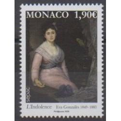 Monaco - 2020 - L'Indolence - Peinture
