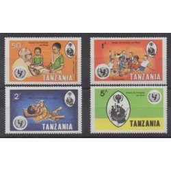 Tanzania - 1979 - Nb 125/128 - Childhood