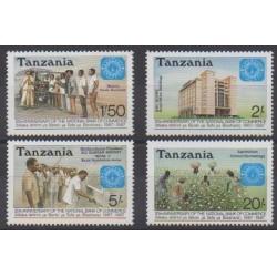 Tanzanie - 1987 - No 305/308