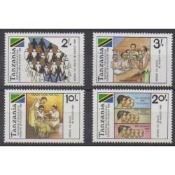 Tanzania - 1988 - Nb 381/384