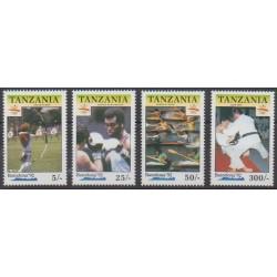 Tanzania - 1990 - Nb 611/614 - Summer Olympics