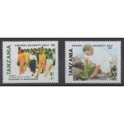 Tanzania - 1991 - Nb 679/680