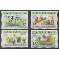 Tanzania - 1990 - Nb 654/657