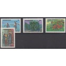 Tanzania - 1990 - Nb 555A/555D