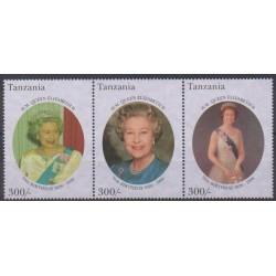 Tanzanie - 1996 - No 1976/1978 - Royauté - Principauté - Neufs avec charnière