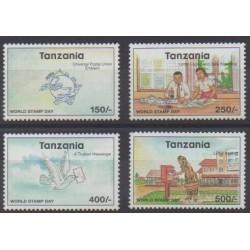 Tanzania - 1998 - Nb 2513/2516 - Postal Service